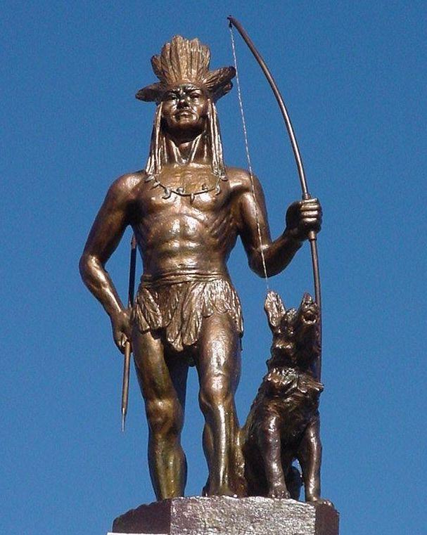 Oeste, população: cem mil índios do cacique Guairacá