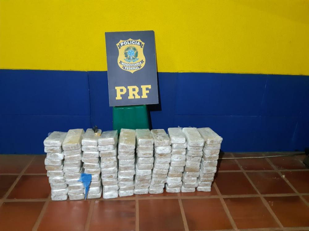 PRF de Cascavel faz a maior apreensão de crack da história