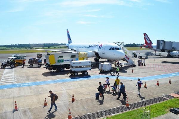 Latam retoma voos para o aeroporto de Foz do Iguaçu a partir de 15 de junho