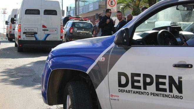 Depen transfere presos com Covid-19 da cadeia de Toledo