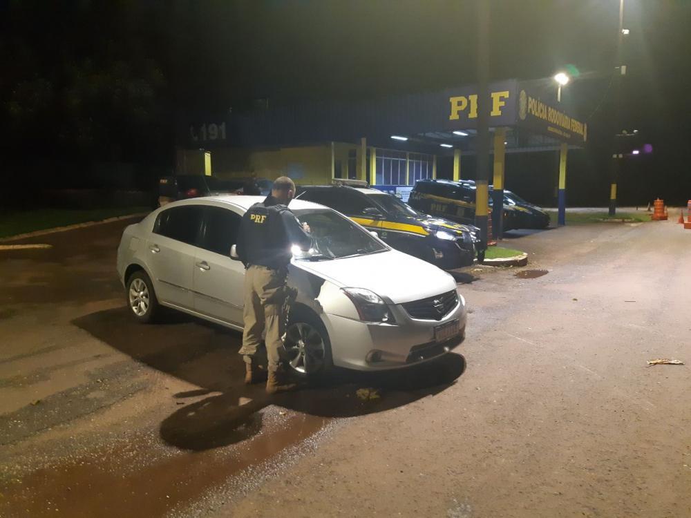 PRF recupera veículo clonado roubado em Curitiba