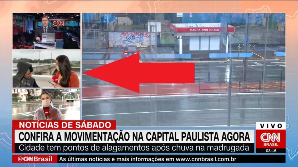 Repórter da CNN é assaltada no ar durante noticiário da emissora. Veja o vídeo