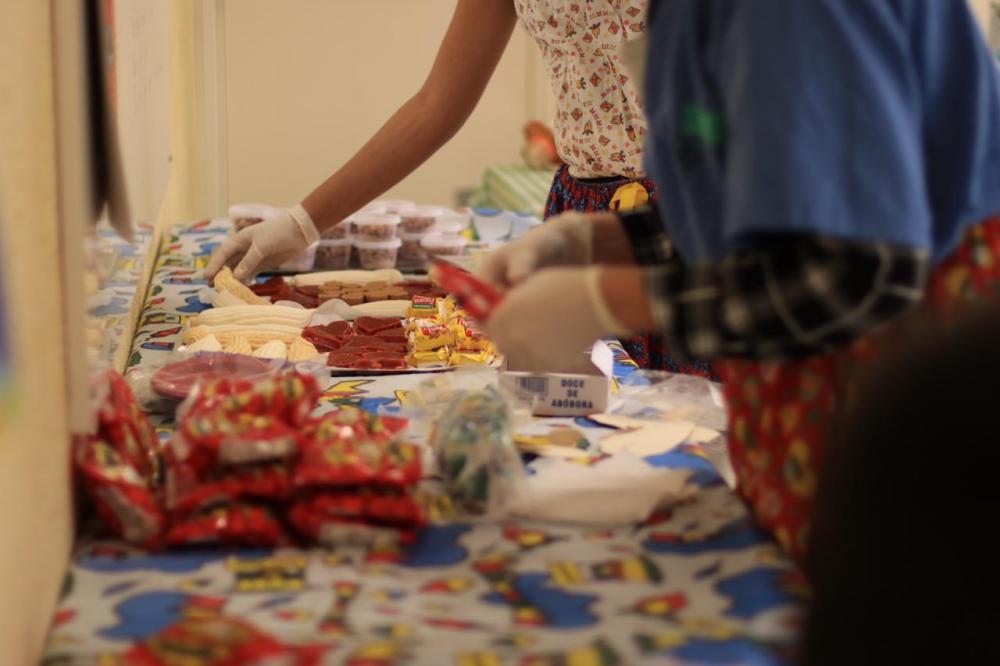 Huop: festa junina comemora aniversário e proximidade da alta na Ala de Desintoxicação