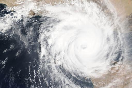 Os ventos fortes criam um efeito de centrifugação, por isso, o nome de ciclone. Foto: Imagem ilustrativa