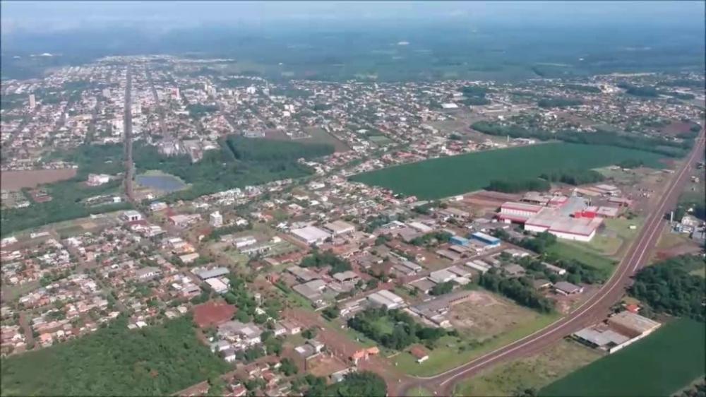 Vista aérea de Marechal Cândido Rondon
