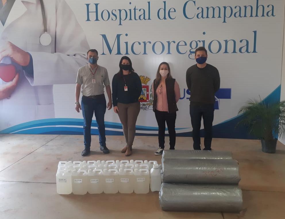 Coopavel contribui com estruturação do hospital de campanha de Corbélia