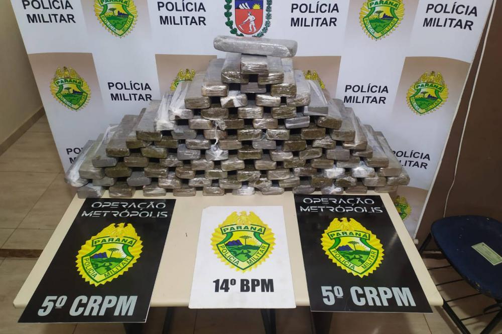 Operação policial faz 281 prisões e apreende drogas na fronteira
