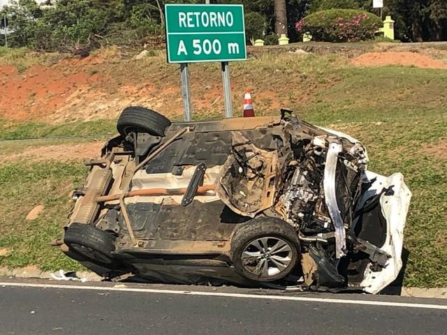 Funcionário de rodovia morre ao ser atingido por BMW na BR 277