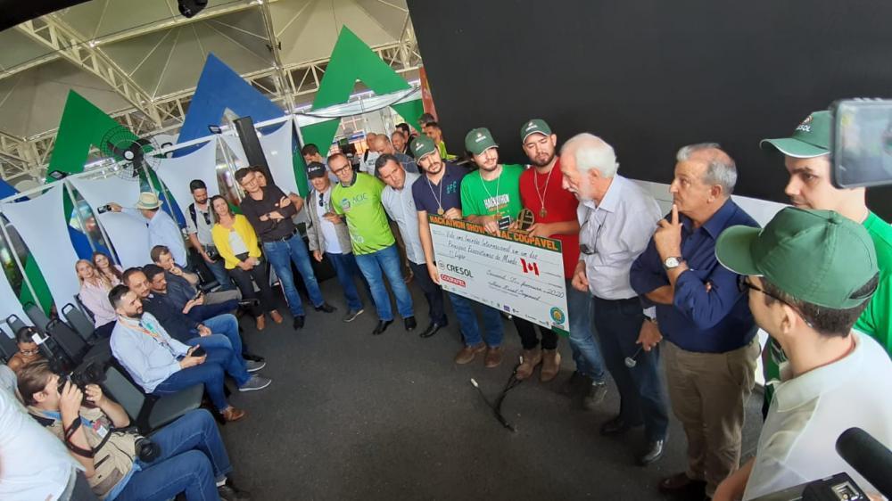 Mimosa vence o hackathon e ganha viagem para ecossistema de Toronto