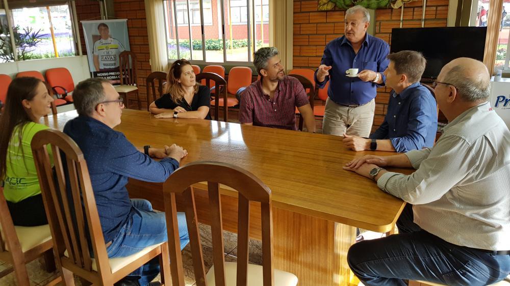 Acic faz reunião de diretoria no 32º Show Rural Coopavel