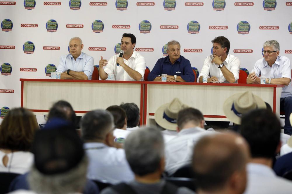 Terceiro dia registra público de 64.456 pessoas. Governador Ratinho Jr esteve entre os visitantes