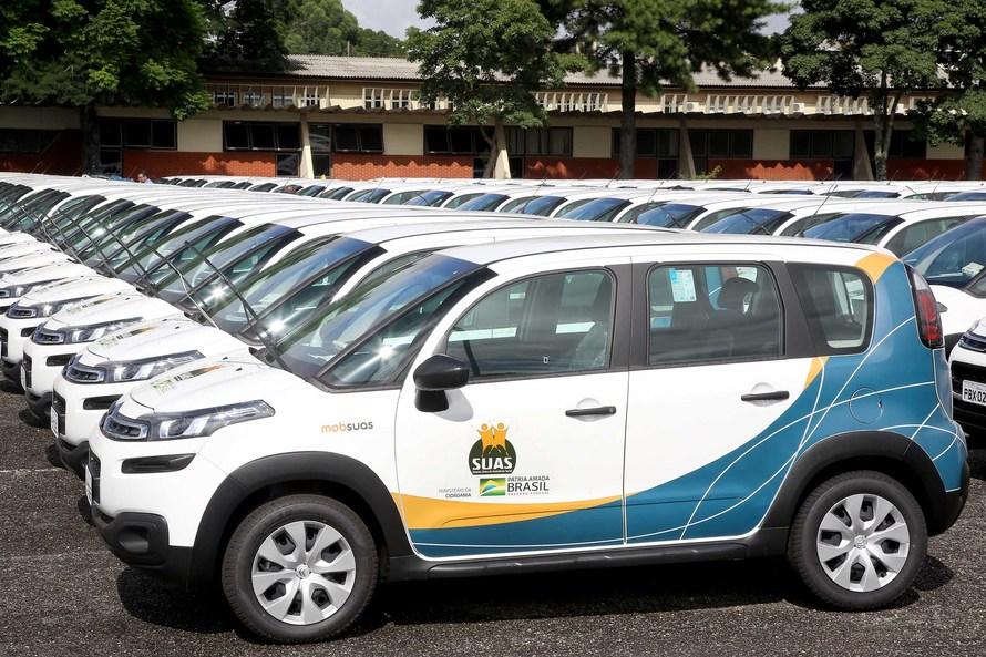 Oeste recebe 21 carros e um micro-ônibus do Governo Federal