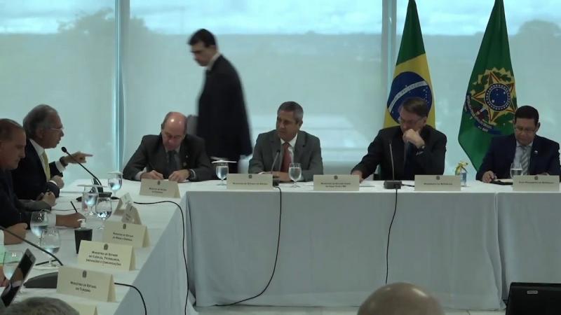 Veja na íntegra o vídeo da reunião ministerial de Bolsonaro